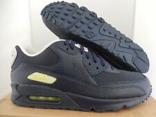 NIKE AIR MAX 90 MID NAVY BLUE-VOLT-WHITE SZ 11 [325018-418]