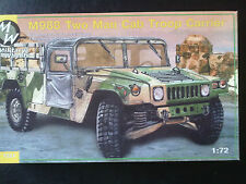Military Wheels 7221 M998 Two Man Cab Troop Carrier 1/72 Kombiversand möglich
