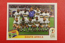 PANINI KOREA JAPAN 2002 # 151 PARAGUAY SOUTH AFRICA TEAM WITH BLUE BACK MINT!!!