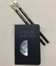 Half Moon Field Notes Lunacy Notebook & Two Palomino Blackwing Pencils
