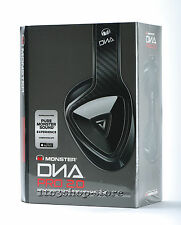 Monster DNA Pro 2.0 Over-The-Ear Headphones w/ControlTalk Mic Carbon Fiber Black