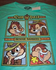 VINTAGE STYLE WALT DISNEY CHIP 'N' DALE RESCUE RANGERS T-Shirt 2XL NEW w/ TAG