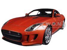 2015 JAGUAR F-TYPE ORANGE 1/24 DIECAST MODEL CAR BY WELLY 24060