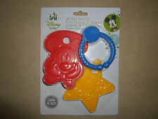 Disney Baby 3 Pc Mickey Mouse BPA Free Ring Charms & Teethers Set~NEW IN PACKAGE