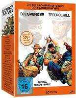 BUD SPENCER & TERENCE HILL - Monster Box (Digital Remastered -- 20 DVD NEU & OVP