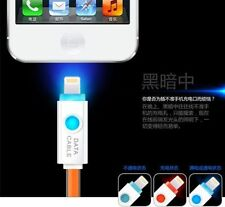 LED Light-Up Data Sync USB Charger Charging Cable Cord For iPhone ipad ipod new