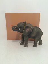 Out of Africa by Standing Missing You Elephant Figurine Ornament *BRAND NEW BOX*