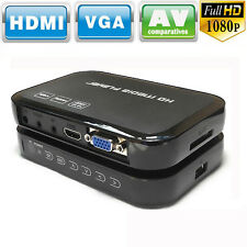 HD 1080P USB Hard Drive Multi Media Player MKV AVI RMVB DivX HDMI Out