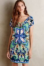 NWT $138 Anthropologie Folksong Shift SMALL Petite MEDIUM Runs Big By Maeve