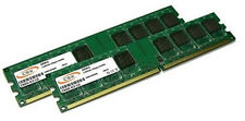 2x 1GB 2GB Low Density DDR RAM Speicher PC 3200 400 Mhz DDR1 184pin PC3200U CL3