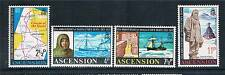 Ascension 1972 Shackleton's Anniversary SG159/62 MNH