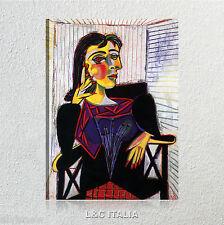 Ritratto di Dora Maar Picasso QUADRO STAMPA TELA ARREDAMENTO CASA QUADRI ARTE