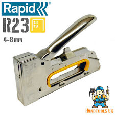 RAPID FINELINE R23 ERGONOMICO Staple Gun / Cucitrice / Tacker + GRATIS R3 STAPLE ASTA!