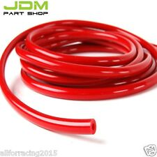 "Red ID:5/32"",0.16"" (4MM) SILICONE VACUUM HOSE TUBE PIPE RACING TURBO---1 foot"