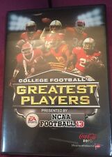 College Football's The Greatest Players Presented By NCAA Football13, DVD
