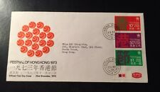 1973 Hong Kong Festivals FDC First Day Cover Stamp Excellent Condition