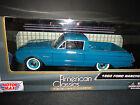 Motormax Ford Ranchero 1960 Greenish Blue 1/24