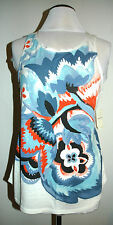 Lucky Women's Multi-Color Pop Floral Tank Top Size Medium Style 7WDG249