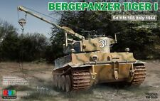 Ryefield-Model RM5008 1/35 Bergepanzer Tiger I Sd.Kfz.185 Italy 1944
