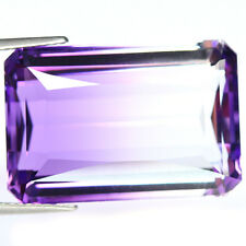 26.31 CT AAA! PURPLE & WHITE BOLIVIA AMETRINE OCTAGON LOVELY