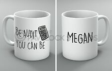 Personalised Be Audit You Can Be Mug Accountant Accountancy Accounting Finance