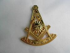 "Masonic - Past-Master zinc cut-out car/auto Emblem  2"" tall"" (PSC014)"