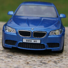 5 Inch BMW M5 Alloy Diecast Model Cars Toy Car Gift With Pull Back Function Blue