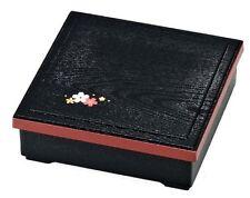 New BENTO Lunch Box Square grain of wood SAKURA Japanese SHOKADO 980ml Japan
