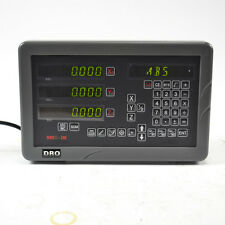 "SINPO 3 AXIS DIGITAL READOUT DRO KIT FOR  9X42"" Bridgeport mill milling machine"