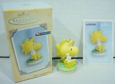 Hallmark Peanuts Woodstock A Little Bunny Hug Keepsake Ornament 2004