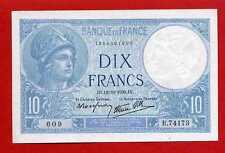 (B.741) 10 FRANCS MINERVE 12/10/1939 (SPL-)