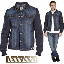 Branded Men's Denim Jean Jacket Classic Western Style Duke Curtis Coat Plus Size