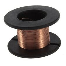 0.1mm Copper Soldering Solder PPA Enamelled Reel Wire 15m Connecting Line
