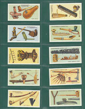 PIPES  OF  THE  WORLD  -  SET  OF  25  CARDS