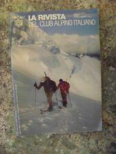 LA RIVISTA DEL CLUB ALPINO ITALIANO anno 105 n°1-2 1984