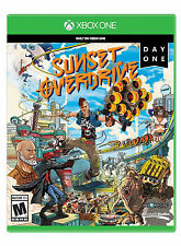 Sunset Overdrive -- Day One Edition (Microsoft Xbox One, 2014) Ex Condition