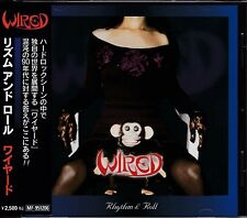 WIRED Rhythm & Roll CD!! JAPAN HEAVY METAL HARD ROCK Hellen Wolf Loudness Sniper
