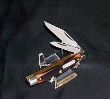 """Schrade 33OT Knife Old Timer Jack 3-5/16"""" Closed 1980's Delrin Handles Nice NOS"""