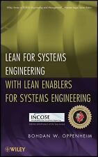Lean for Systems Engineering with Lean Enablers for Systems Engineering (Wiley S