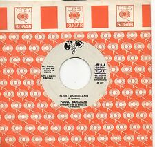 PAOLO BARABANI  D.D.SOUND disco 45 MADE in ITALY promo JUKE BOX Fumo americano