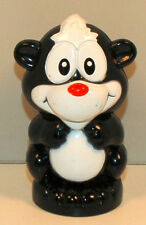 "3"" Black & White Skunk Vtech Smartville Replacement Alphabet Animal Train Figure"