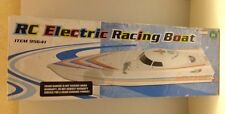 RC ELECTRIC RACING BOAT MODEL 95641 - USED & UNTESTED