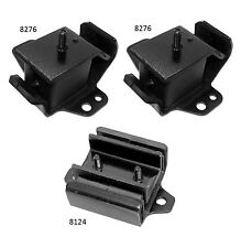 3 PCS Motor & Trans. Mount For 1986-1994 Nissan Pickup D21 Hardbody 2.4L 4WD
