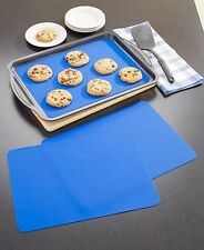 Set Of 3 Reusable Nonstick Baking Sheet Liners Silicon Cookie Sheet Kitchen Gift