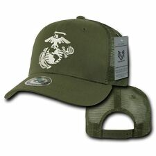 RapDom S77 Back to the Basics Ball Cap Mesh Hat US Military USMC Marine Corp OD