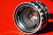 M42 ISCO-Göttingen Westromat 1.9/50mm mint glass, full frame tested, uncommon