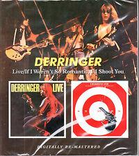 DERRINGER live/if i weren´t so romantic, i´d Rem. Slip-Cased  CD NEU OVP/Sealed