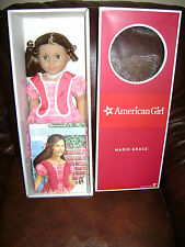 "AMERICAN GIRL HISTORICAL DOLL 18"" MARIE GRACE  Book friend of CECILE RETIRED NIB"