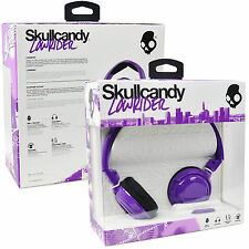 Genuine Skullcandy Lowrider On Ear Over Headphones Smartphone Handsfree With Mic