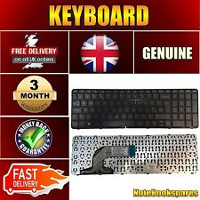 BRAND HP PAVILION 15-N270SA LAPTOP KEYBOARD UK LAYOUT WITH FRAME